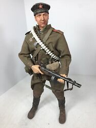 1/6 Dragon Custom Build Russian Red Navy Infantry Ppsh-41 And Grenade Ww2 Bbi Did