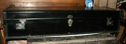 Antique Ajax Car And Carriage Trunk With Keys