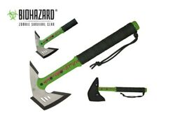 Survival Zombie Killer Tactical Throwing Axe With Sheath