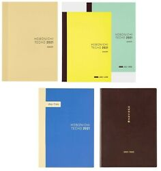 Hobonichi Techo 2021 Cousin A5 Planner Diary Notebook 4 types Japan $56.27