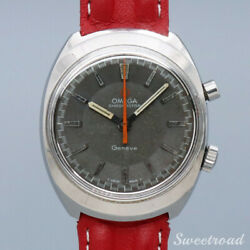 Omega Geneve Ref.145.009 Cal.865 Manual Hand Wind Authentic Mens Watch Works