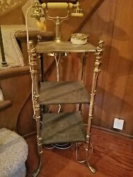 Antique Large Standing French Phone