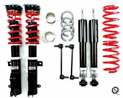 Rs-r Sports-i Japan Coilovers Lowering Adjustable Coils For 2015-2016 Vw Gti