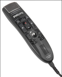 Philips Lfh3600 Speechmike With Barcode Scanner And Push Button