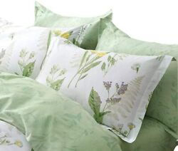 Fadfay Shabby Duvet Cover Sheet Set 7-pieces Daisy And Lavender Floral Printed 1