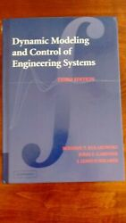 Dynamic Modeling And Control Of Engineering Systems 3rd Edition Kulakowski