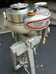 1946 Sea King Outboard Boat Motor Sold By Montgomery Ward.