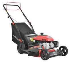 Power Smart 21 3-in-1 170cc Gas Self Propelled Lawn Mower Grass Strong Engine