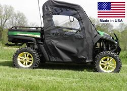 Doors And Rear Window For John Deere Gator Rsx / Xuv / Hpx - Soft Material