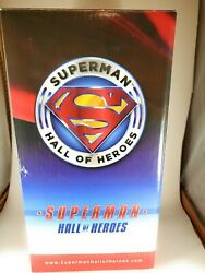 Superman Hall Of Heroes Kryptonite Statue Trophy By Gentle Giant 9 Inch Rare