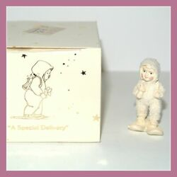 Department 56 Snowbabies A Special Delivery 7624-4 Miniatures Pewter Box