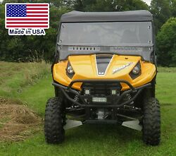 Hard Windshield And Roof For Kawasaki Teryx 4 - Soft Acrylic Top - Polycarbonate
