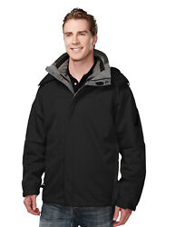 Tri-mountain Men's 100 Polyester Bonded Soft Shell 3-in-1 Jacket 6850 S-4xl