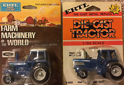 Ford Old Farm Scene Card 9700 And Tw35 Tractors 1/64 Scale Nib