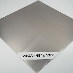 304 Stainless Steel Sheet 24ga - 48 X 120 4ft X 10ft 4 Brushed 8 Pack