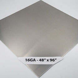 304 Stainless Steel Sheet 16ga 1/16 - 48 X 96 4ft X 8ft 4 Brushed 4 Qty