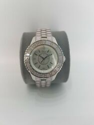 Christian Dior Christal Stainless Steel Ladies Watch