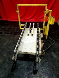 Surface Combustion 30x48 Roller Rail Scissor Table W/ Load Guide