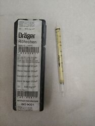 Draeger Water Vapour 20/a-p Pack Of 5 With Instruction Manual