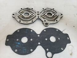 1961 Johnson Evinrude Outboard 75hp Cylinder Head Cover 1 With New Gasket