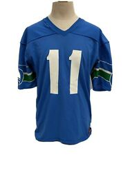 Vintage 80s Rawlings Seattle Seahawks 11 Jersey Made In Usa Sz L 42-44 Nwots