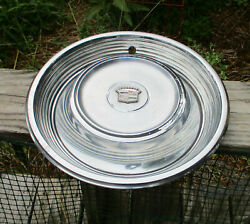 68-69 Cadillac Deville Hubcap Wheel Cover Oem Nice Shape 2