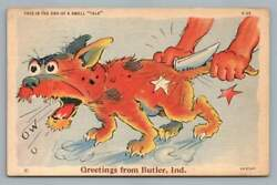 End Of Swell Tale Butler Indiana Ray Walters Comicmaccabre Dog Knife 1938