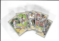 2012 Topps Gypsy Queen Mini Var Photo Variations Comp. Set Of 91 - Free Shipping