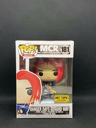 Funko Pop Danger Days Gerard Way 181 My Chemical Romance Hot Topic Exclusive