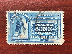 US 1885 #E1 Special Delivery Messenger 10c Used $4.99