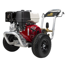 Be Professional 4000 Psi Belt-drive Gas-cold Water Pressure Washer W/ Honda...