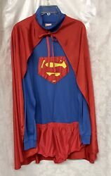 Men's Superman Costume Size L XL