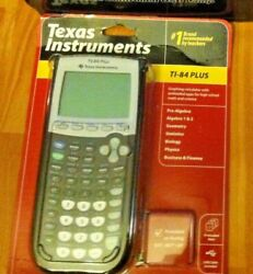 Lot Of 3 Texas Instruments Ti-84 Plus Graphing Calculatorfree Pink Lamp/pomsie