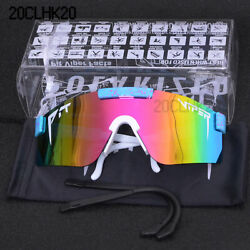 Pit Viper Mens Women Outdoor Polarized Sunglasses Cycling Windproof Sport Goggle