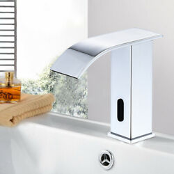 Automatic Sensor Touchless Faucet Bathroom Basin Sink Cold Water Brass Tap New