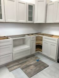 Brand New 21st. Glacier Kitchen Cabinets Never Opened Gray Stone.