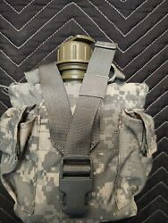 Usgi Army Military Acu Molle Canteen General Purpose Pouch Dump 5 Mag Holder