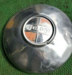 1 Vintage 1966-1973 Jeep Cj 4x4 Dog Dish Wheel Hub Cap Oem Amc Jeester Old