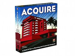 High Finance Acquire Board Game Of Speculation And Strategy
