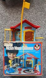 Mickey Mouse Clubhouse Romper Room Hasbro Vintage Play Set Toy With Box