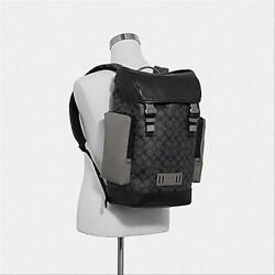 Brand New COACH Ranger Men#x27;s Backpack in Colorblock Signature Canva F79901 $244.00