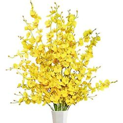 Greentime 39andrdquo Dancing Lady Orchids 10 Pcs Artificial Stems Flower Wedding