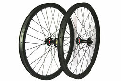29er Mtb Carbon Wheels 40mm Wide Mountain Bicycle Fat Snow Bike Wheelset Boost