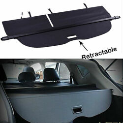 For 2015-2020 Nissan Murano Rear Trunk Cargo Luggage Security Shade Black Cover