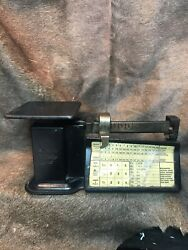 Vintage Triner Airmail Accuracy Scale. 16oz/1lb Capacity.amazing Condition