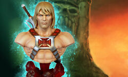 Masters Of The Universe - He-man Bust Tweeterhead Sideshow Collectibles Figurine