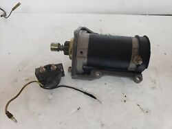 1992 Suzuki 40hp 2 Stroke Starter And Mounting Braket With Bolts Also Solenoid