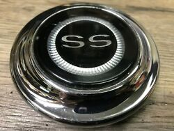1967 67 Chevelle Malibu Ss Used Gm Super Sport Horn Cap Oem And Very Nice