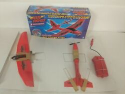 Vintage Air Hogs Plane Spin Master Eradicator Quick Charge New Open Box