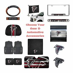 Nfl Atlanta Falcons Select Your Gear Auto Accessories Official Licensed